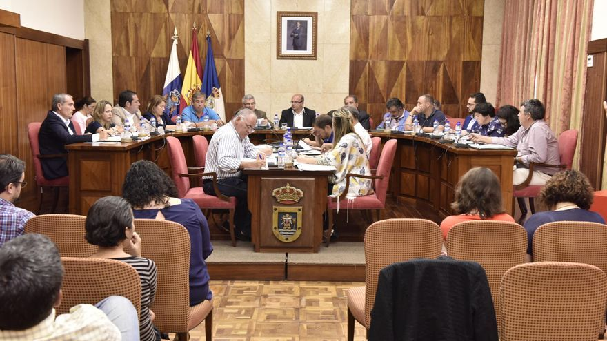 En la imagen, pleno del Cabildo de La Palma celebrado este miércoles.