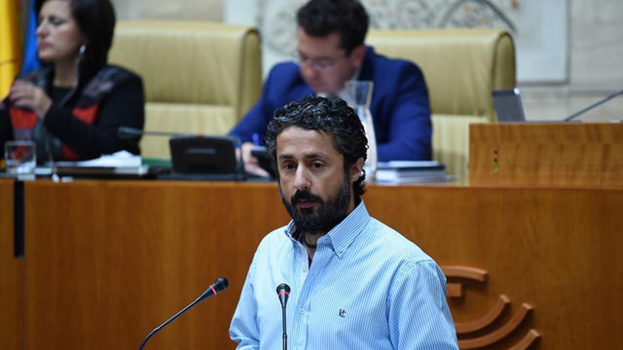 Eugenio Romero, diputado regional de Podemos Extremadura