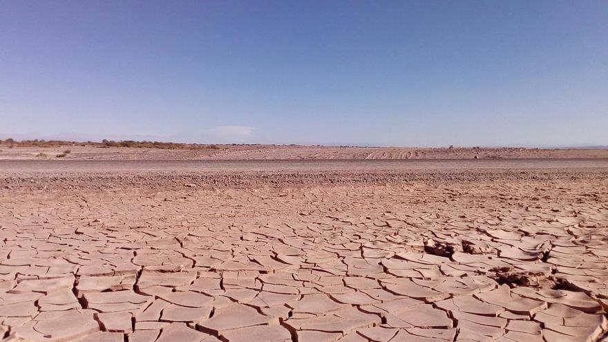 Desertificación. Desierto de Atacama (norte de Chile)
