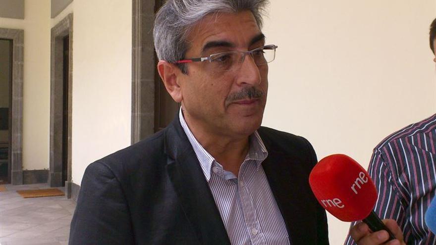 Román Rodríguez, candidato de NC.