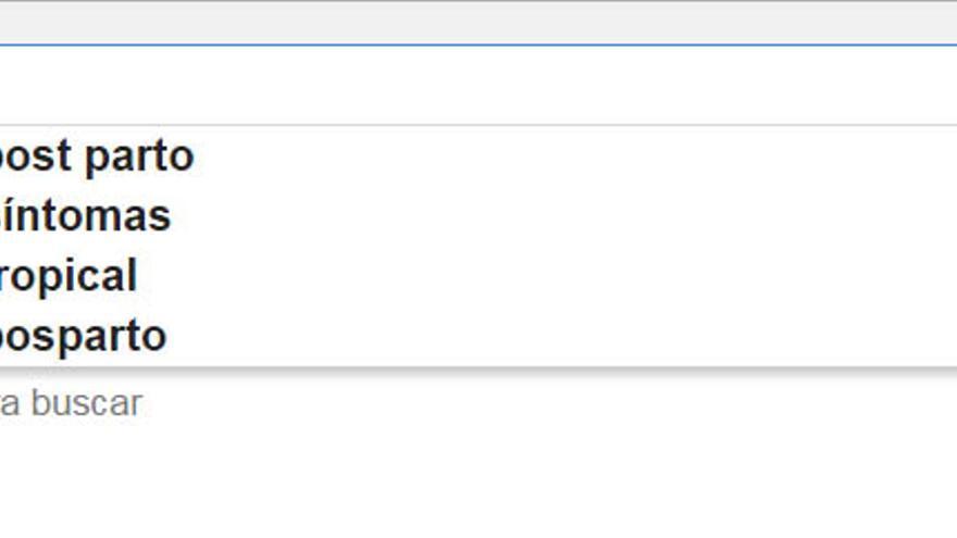 Las búsquedas en Google está relacionadas con nuestras preocupaciones