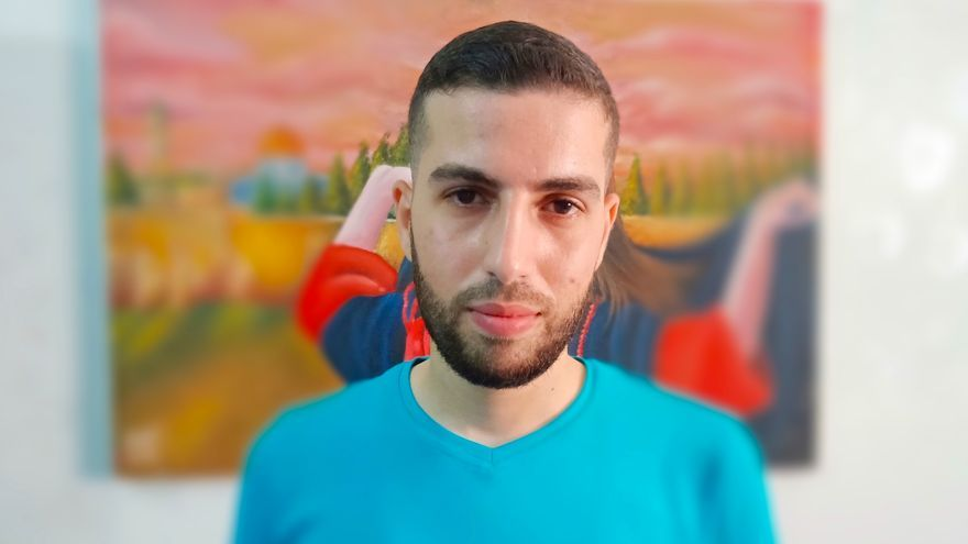 Mohamad, de 25 años, es uno de los miles de jóvenes de Gaza que emprendió sus estudios universitarios con ilusión.