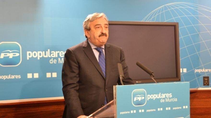 Andrés Ayala, en una imagen de archivo. Foto: PP de Murcia