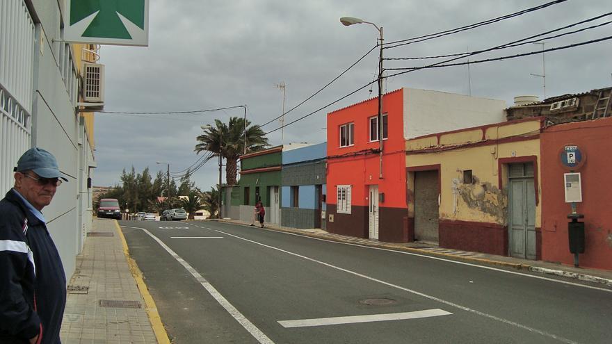 Avenida principal de Ojos de Garza.