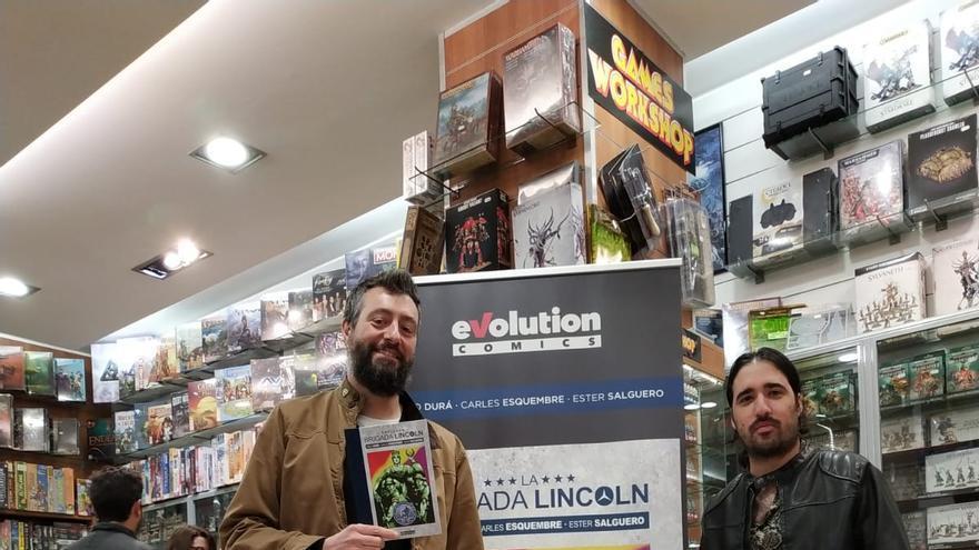 Pablo Durá con 'La Brigada Lincoln'