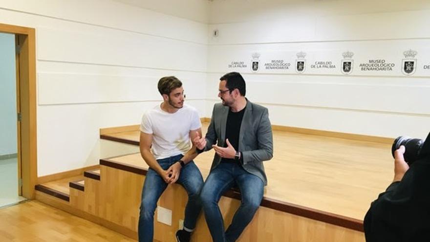 Marc Castignani (i) y Jordi Pérez Camacho.