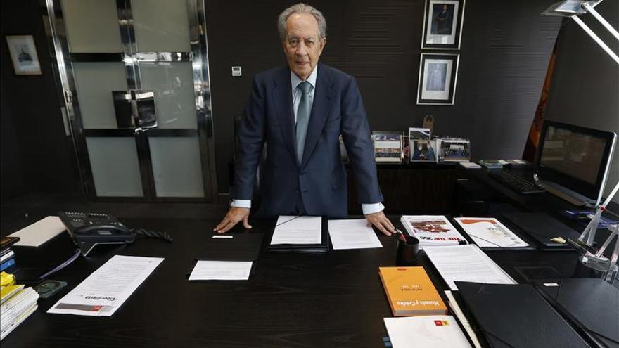 Villar Mir confía en alcanzar cerca del 30 % en Abertis y Colonial
