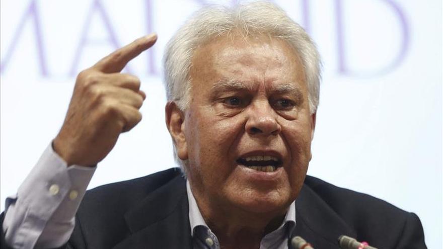 Felipe González anuncia que volverá a Venezuela antes de las elecciones del 6 de diciembre