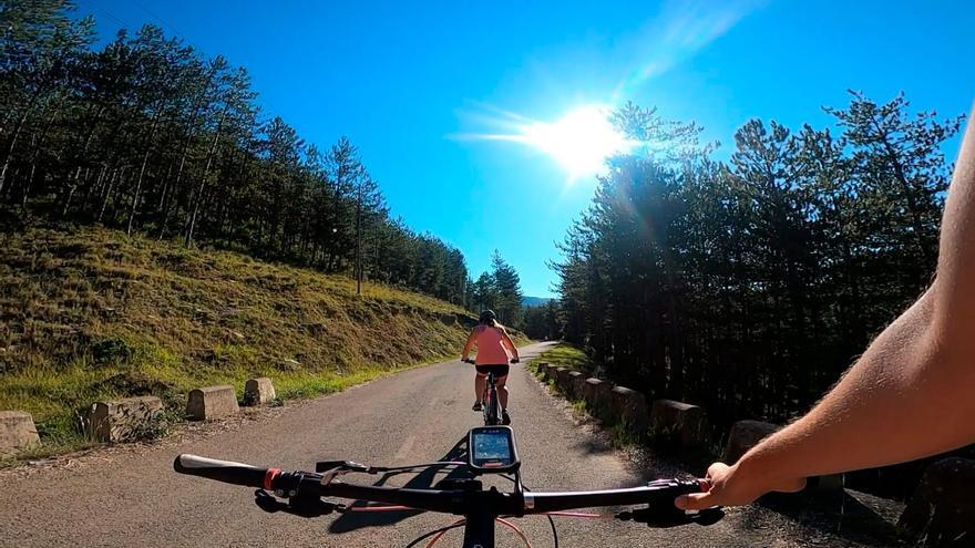 El Pirineo es uno de los lugares elegidos para la práctica de la bicicleta