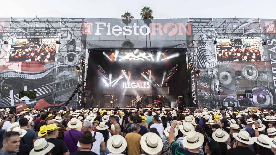 Festival FiestoRon, en Arucas, Gran Canaria