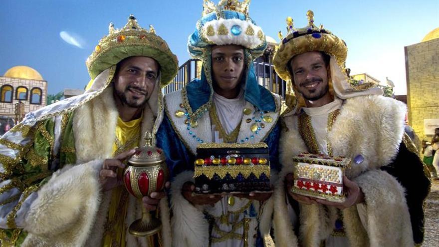 El Pesebre más Grande del Mundo visita a la caribeña Cartagena de Indias