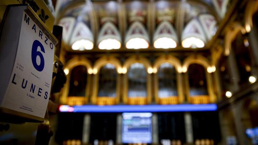 La Bolsa española minimiza sus pérdidas al 0,09 por ciento tras la apertura