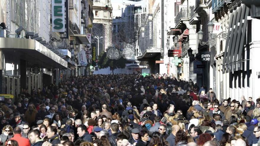 Activadas las señales luminosas para peatones en dos calles de Madrid