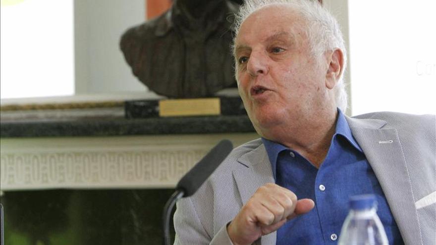 Barenboim apuesta en Argentina por la música como vehículo para la paz