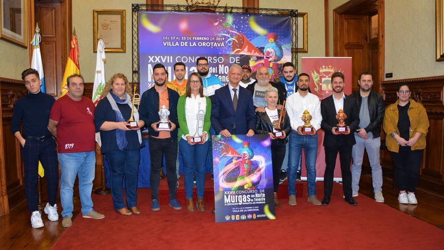 Presentación este martes en las casas consistoriales de La Orotava de ambos concursos
