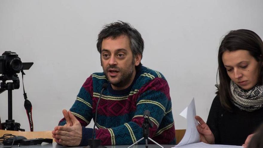 Xulio Ferreiro, en un acto público / Sandra G. Rey