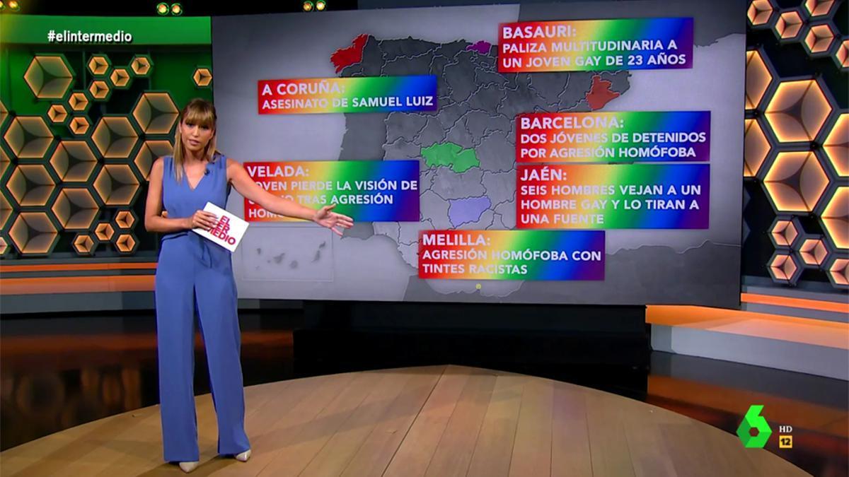 Sandra Sabatés, en 'El Intermedio'