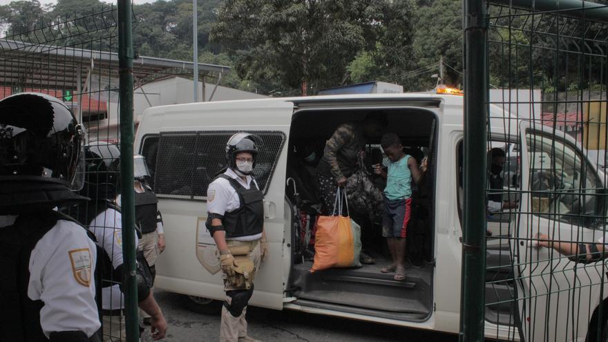 Guardia Nacional de México aprehende a 150 haitianos en operativo masivo