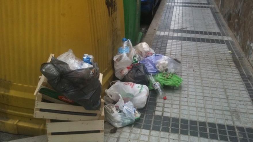 De acumulación de basura en LPGC #1