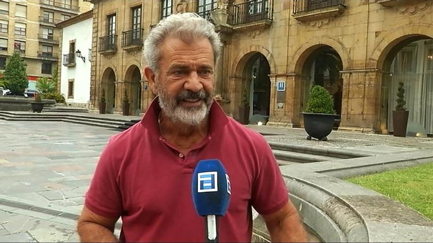 Mel Gibson habla para la TPA