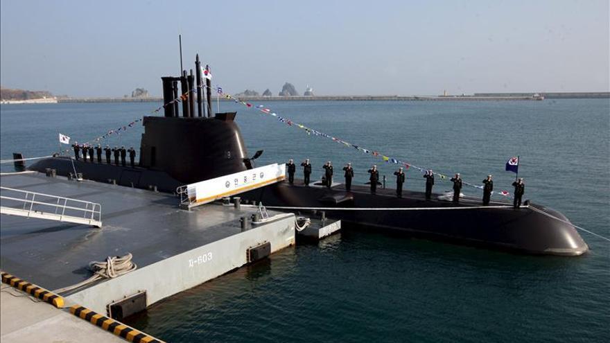 Corea del Sur presenta su sexto submarino de ataque de 1.800 toneladas