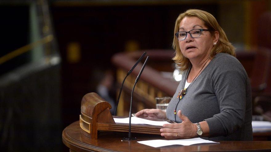 Meri Pita, secretaria general de Podemos Canarias.