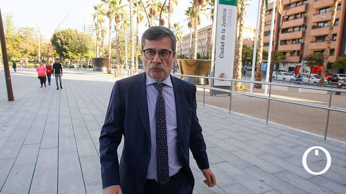 Carlos González, en la Ciudad de la Justicia