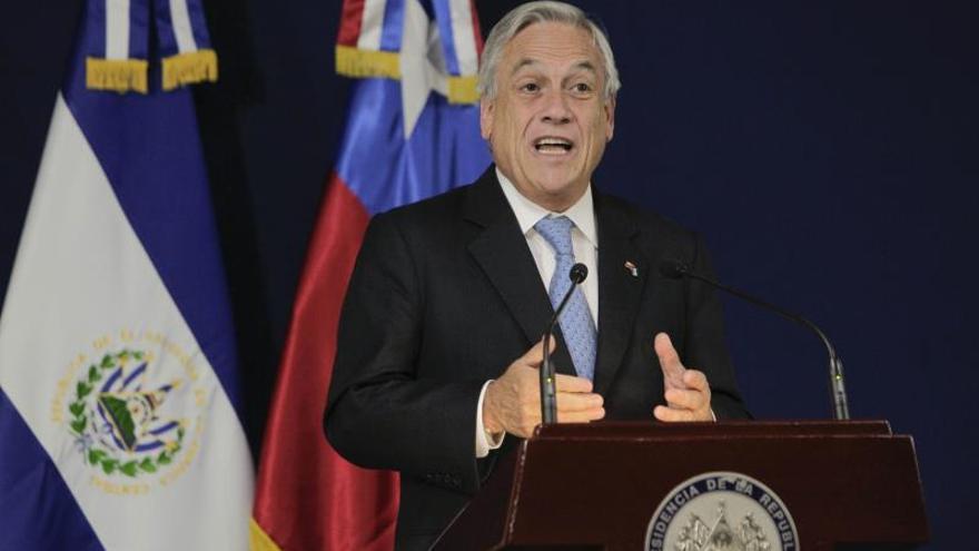 """Piñera dice esperar fallo de La Haya """"con tranquilidad y sin triunfalismos"""""""