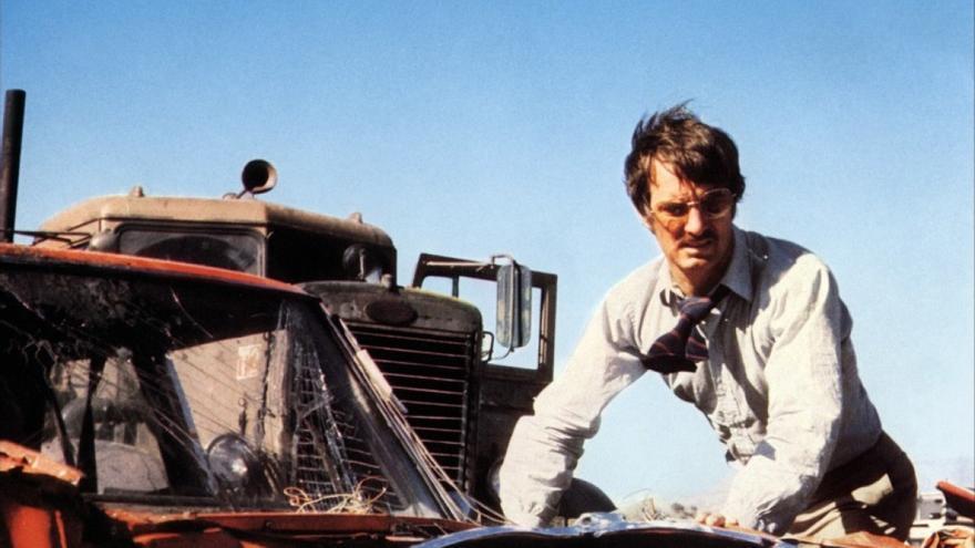Fotograma de 'El diablo sobre ruedas', de Steven Spielberg