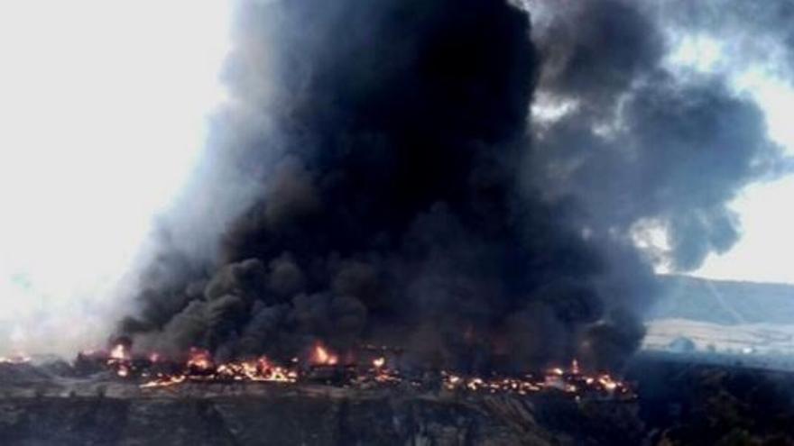 Incendio en Chiloeches (Guadalajara) / Agentes Medioambientales