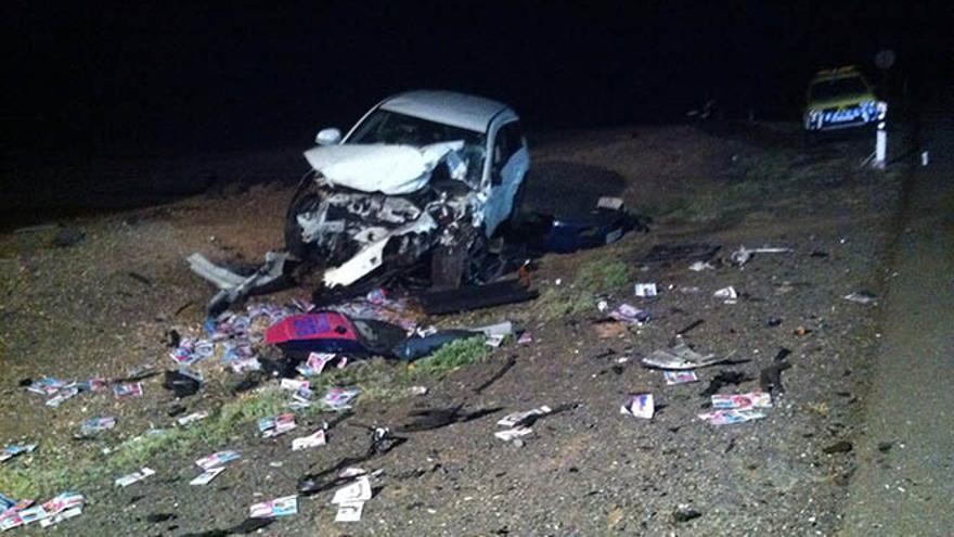 Imagen del acidente vía @ftvEmergen