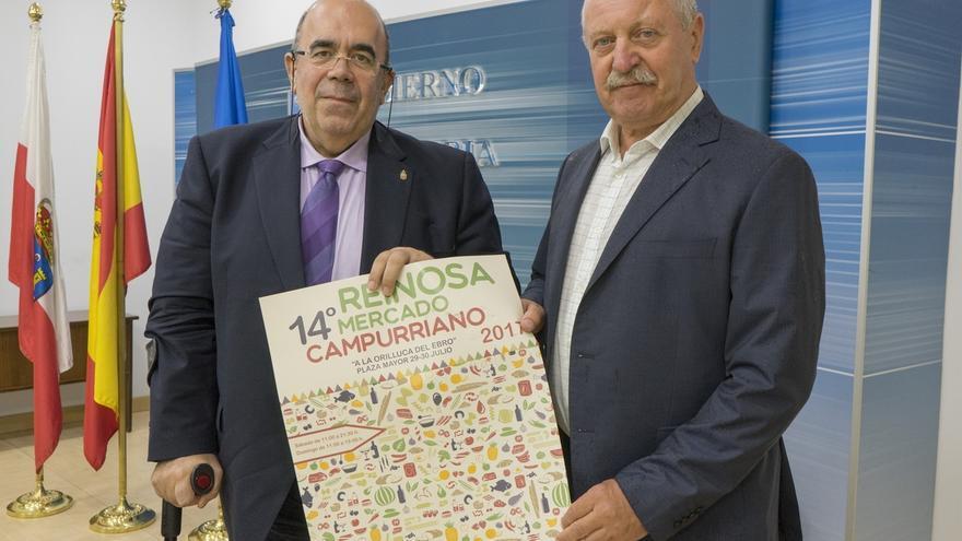 36 productores cántabros, de España, Francia y Portugal participan en el Mercado Campurriano el 29 y 30