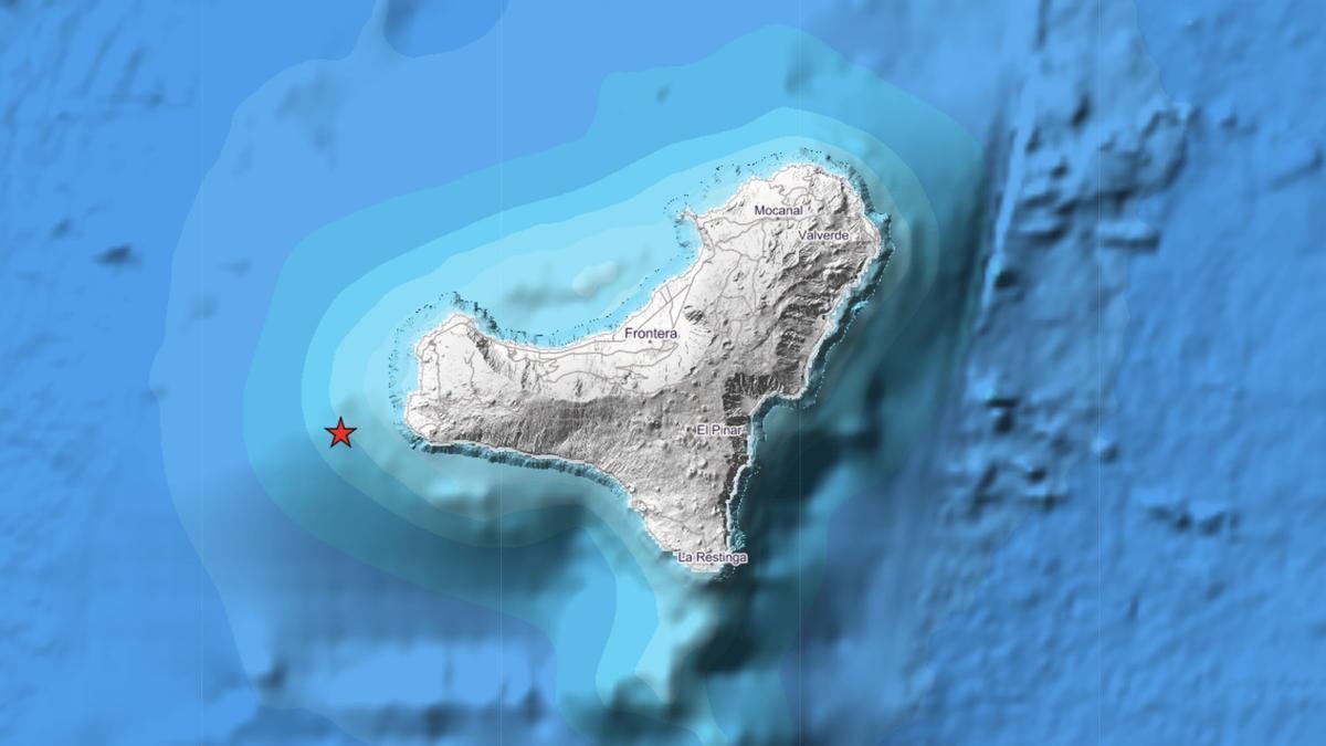 El Instituto Geográfico Nacional no tiene constancia de que la población sintiese esos terremotos
