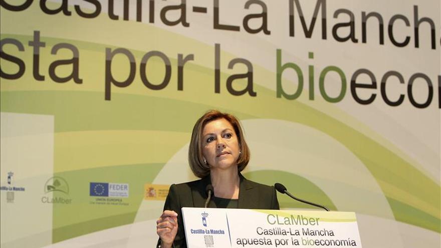 Cospedal afirma que España se ha desprendido de ese ancla que se llamaba crisis