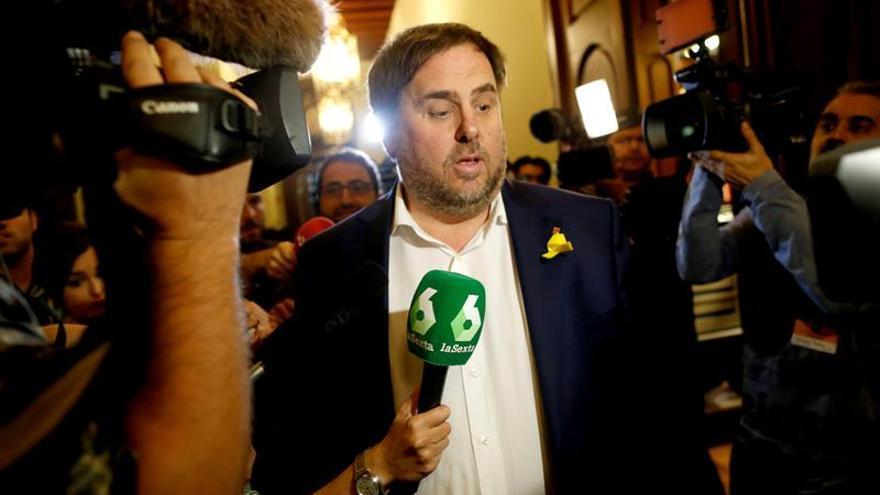 """Junqueras pide """"recomponer"""" las fuerzas en Cataluña en un artículo en el NYT"""