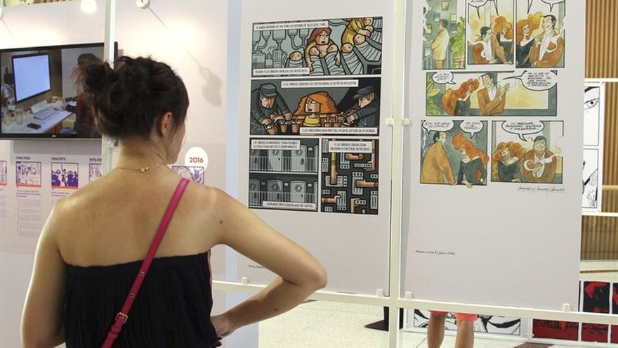 Una exposición sobre autoras de cómic españolas aterriza en Bangkok