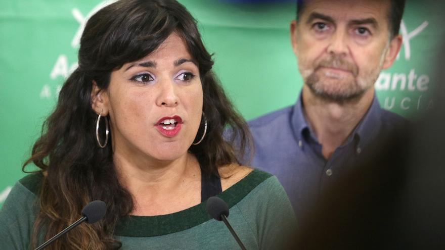 """Teresa Rodríguez denuncia que las derechas """"se pliegan al machismo que nos quiere hacer retroceder décadas"""""""