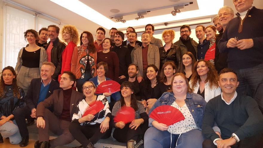 Rueda de prensa de los nominados a la Unión de Actores y Actrices de España.