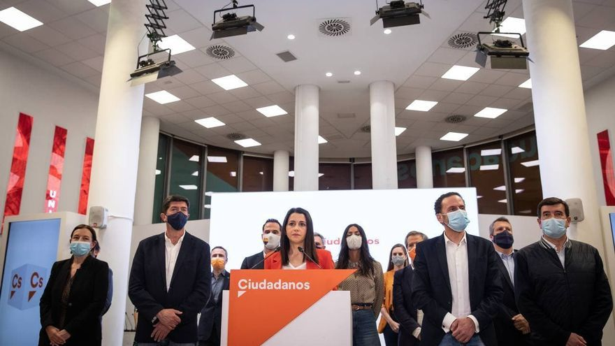 Ciudadanos wants to relaunch without renewing the project and with all its trust in the figure of Arrimadas