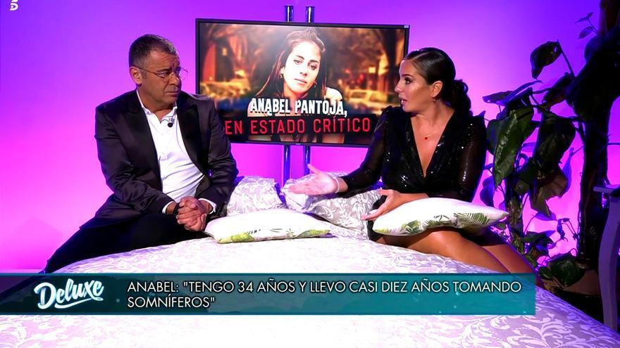 Anabel Pantoja con Jorge Javier Vázquez