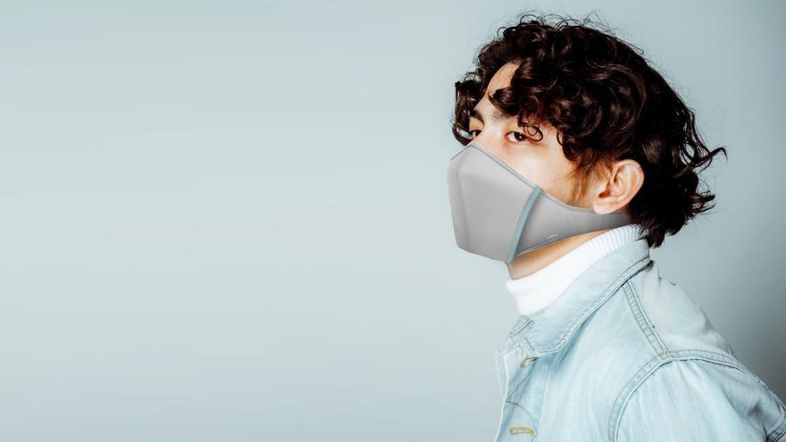 La 'Closca Mask' en una imagen promocional de la empresa.