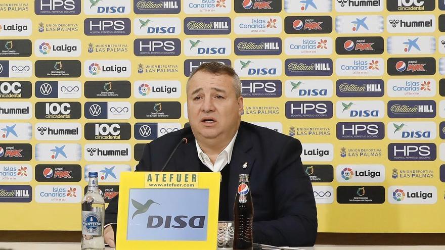 Miguel Ángel Ramírez repasa la actualidad amarilla ante los medios de comunicación