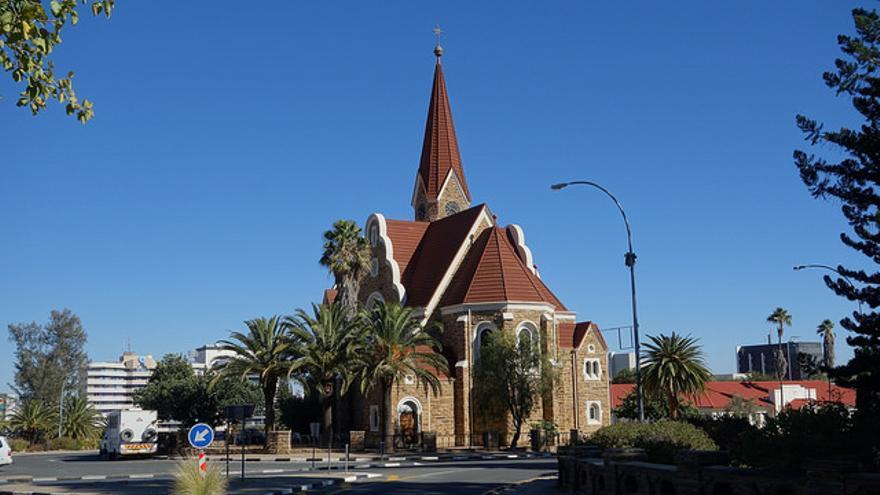 Iglesia luterana de Cristo, en Windhoek. Oliver Bruchez