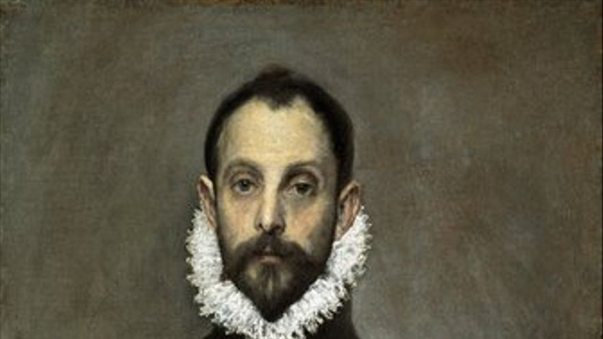 'El caballero de la mano en el pecho', de El Greco'