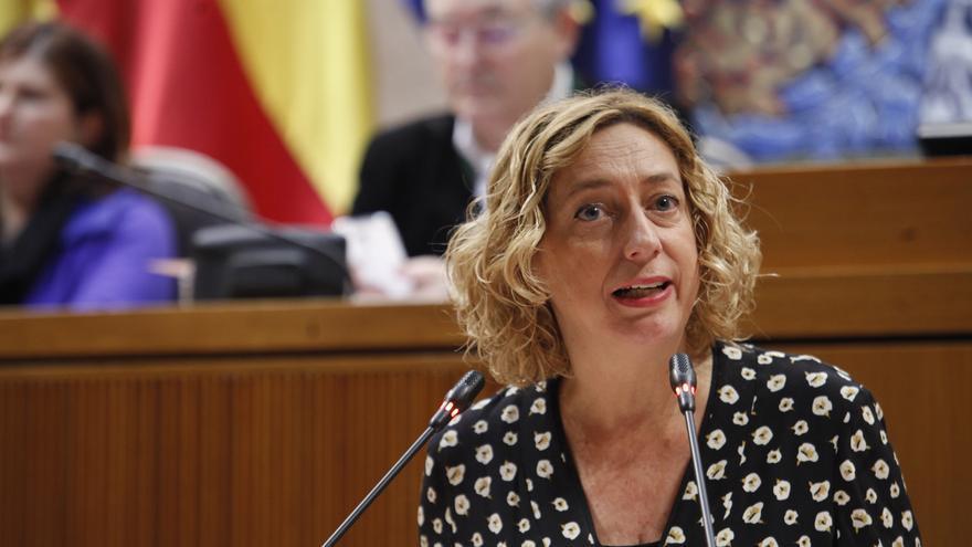 La portavoz de IU, Patricia Luquin.