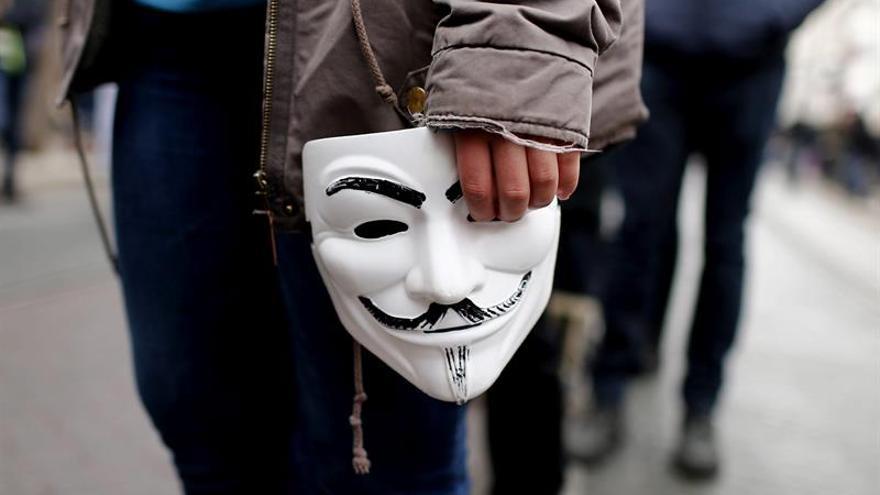 Anonymous bloquea la página web del Banco de Grecia durante seis horas