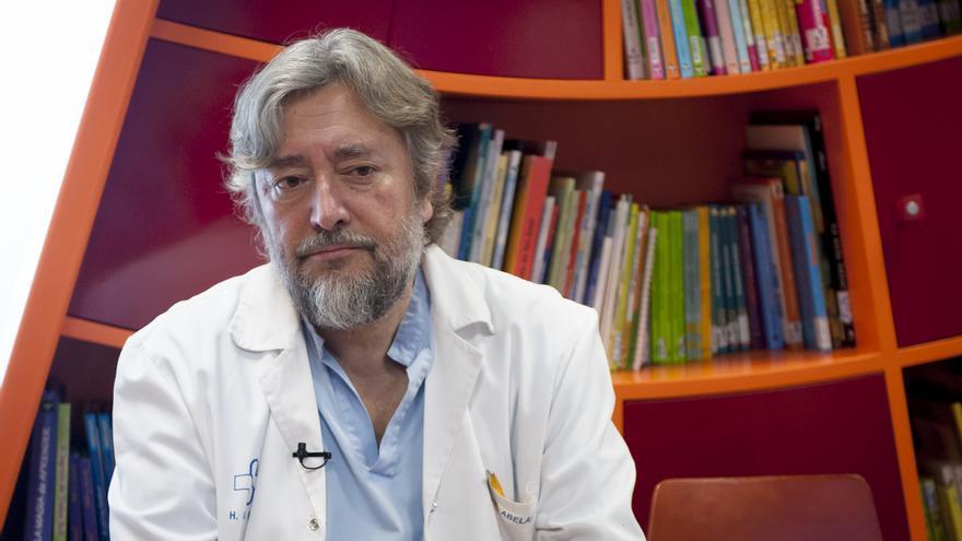 El doctor José Abelairas, presidente de la Sociedad Española de Oftalmología Pediátrica