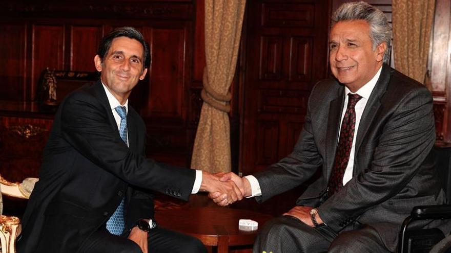Telefónica afianza su compromiso comercial y de inversiones en Ecuador