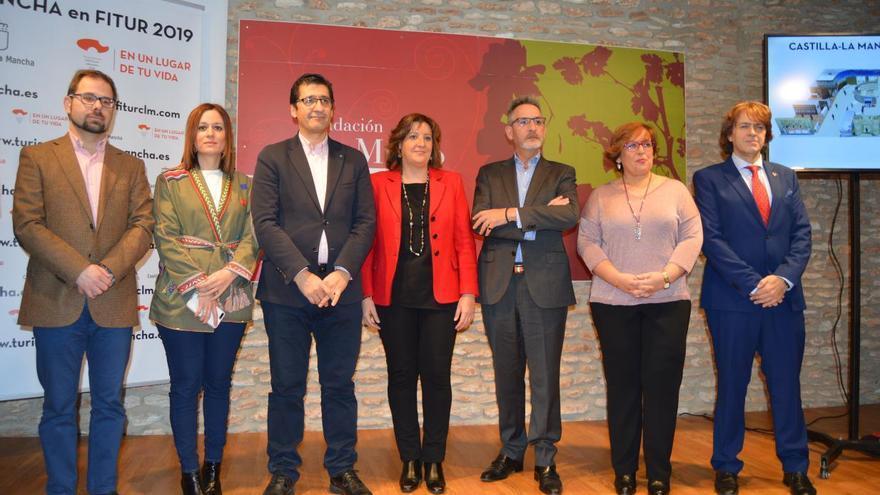 Presentación stand de Castilla-La Mancha en FITUR 2019 FOTO: JCCM