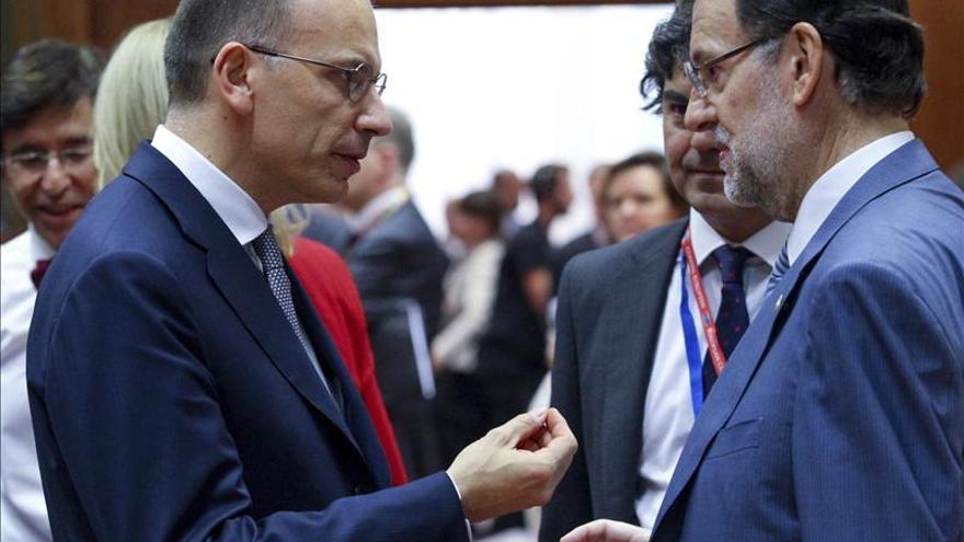 Rajoy y Letta presidirán el 10 de diciembre en Roma la cumbre anual bilateral